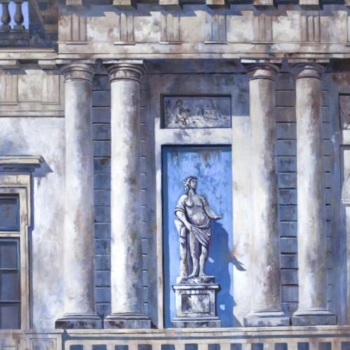 Architectuur Alexander van Noort Schilderij Olieverf